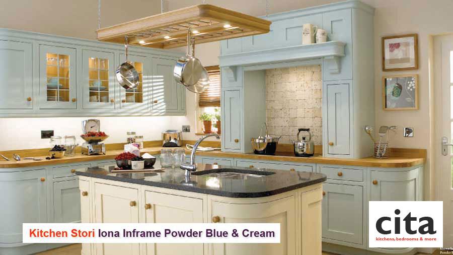 Cream and black kitchen ideas pinterest for Green and cream kitchen ideas